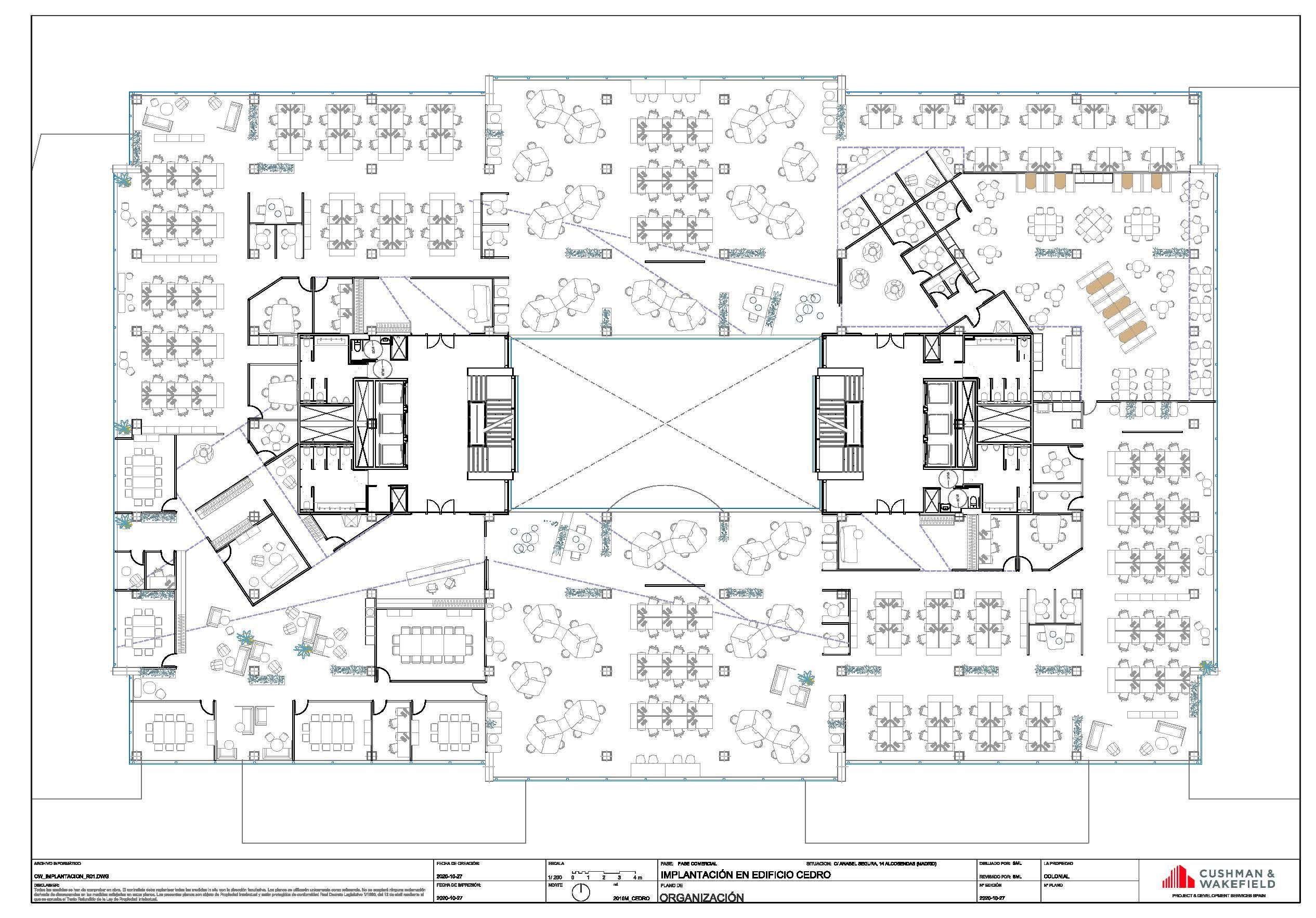 Alquiler de oficinas en P.E. ARROYO DE LA VEGA – EDIFICIO CEDRO – Anabel Segura, 14