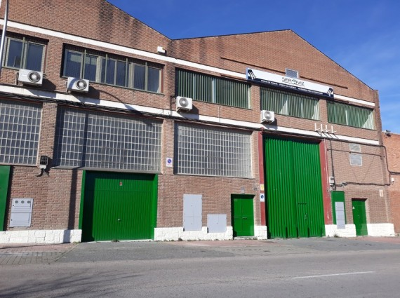 Nave Industrial – Alquiler – Villaverde, Madrid. – Ref. N-089