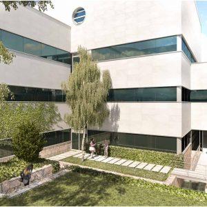Edificio-de-oficinas-ELCANO-jardin-Cushman-Barings