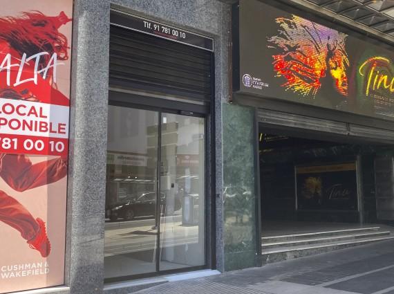 Local Comercial en alquiler en Gran Vía, 78 Madrid centro