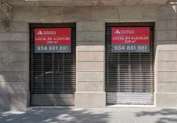 Local comercial –  Passeig de Gràcia, 117 Barcelona