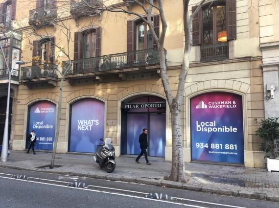 Local comercial – Consell de Cent, 314 Barcelona
