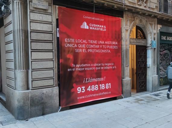 Local comercial – Portaferrissa, 11 Barcelona
