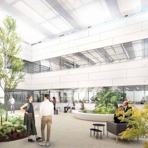 Patio-Elcano-edificio-de-oficinas-sostenible-en-alquliler-Barings-Cushman