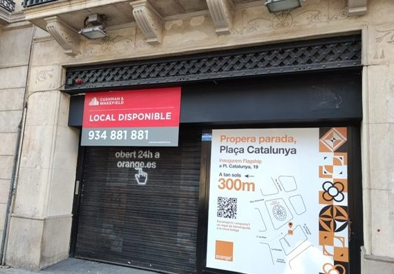 Local comercial – Pelai, 50 Barcelona
