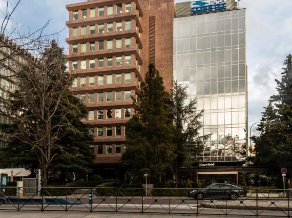 Alquiler de oficinas en el Paseo de la Castellana, 42