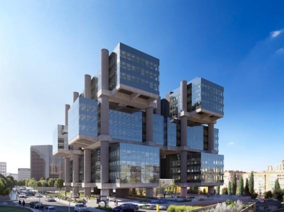 Alquiler de oficinas en Edificio LOS CUBOS | Calle de Albacete 5