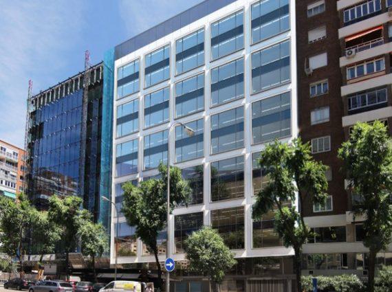 Alquiler de oficinas en Paseo de la Castellana, 163