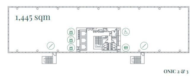 Alquiler de oficinas en P. E. Cristalia I Edificios ONIC 2&3 I Vía de los Poblados, 3