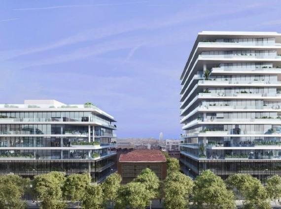 Oficinas en alquiler en Sea Towers I Avinguda d' Icària 211