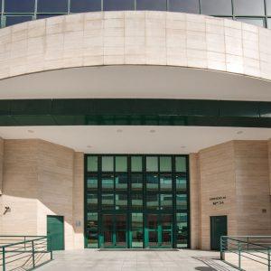 Oficinas-fachada4-Av del Sur del Aeropuerto de Barajas-cushman-Madrid