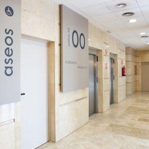 Oficinas-hall2-Av del Sur del Aeropuerto de Barajas-cushman-Madrid