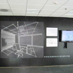 oficinas-hall-edificiomeridian-cushman-barcelona