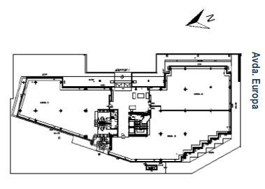 Alquiler de oficinas en P.E. ÁTICA XIX | Avenida de Europa 19
