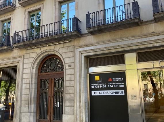 Local comercial en alquiler – Passeig de Gràcia, 103 Barcelona, Eixample