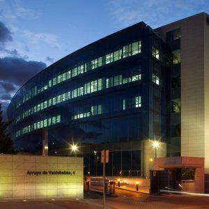 Oficinas-entrada-Arroyo de Valdebebas 4-cushman- Madrid