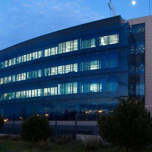 Oficinas-fachada-Arroyo de Valdebebas 4-cushman- Madrid