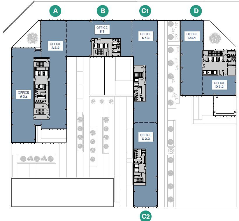 Alquiler de oficinas en P.E. SELVAM@R 125 | Carrer de la Selva de Mar 125