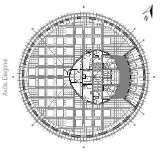 Alquiler de oficinas en TORRE GLORIAS   Avinguda Diagonal 209-211