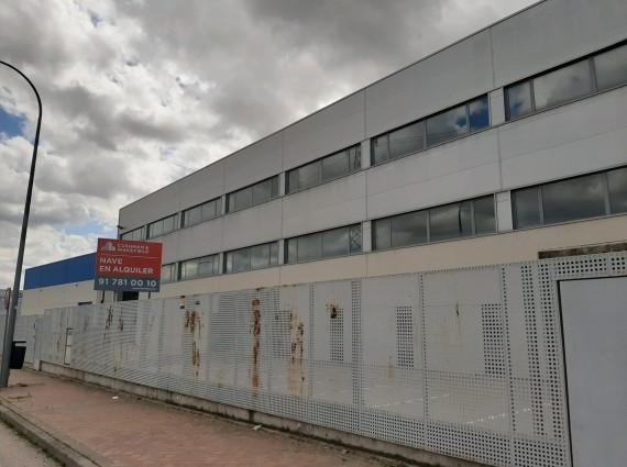 Nave industrial en alquiler – Polígono Industrial Meco – N-145