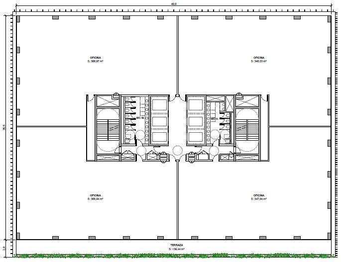 Alquiler de oficinas en Edificio ONE PARC CENTRAL 22@ Diagonal I Calle del Marroc, 33